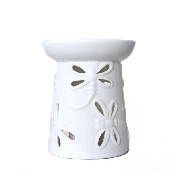 White Dragonfly Oil Burner