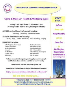Wallington Community Event Flyer