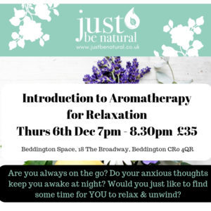 Intro to Aromatherapy for Relaxation