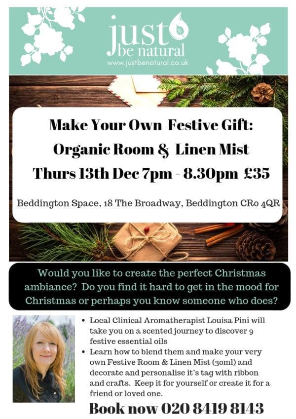 Make Your Own Festive Gift Beddington flyer
